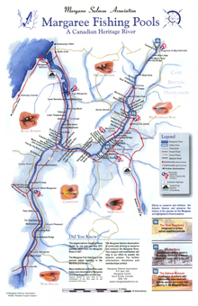 Margaree River Map