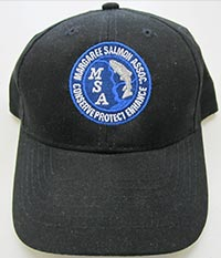 Black Margaree Salmon Association Hat